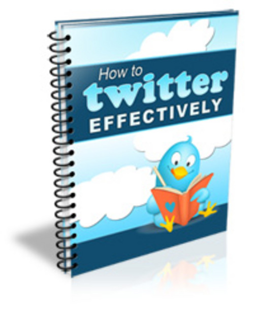 Product picture How to  Twitter effectively Factor.