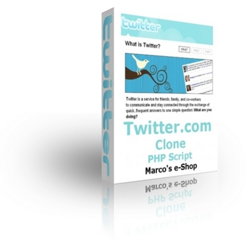 Product picture Twitter.com Clone PHP Script