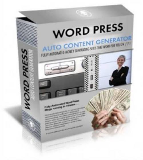 Product picture Wordpress Auto Income