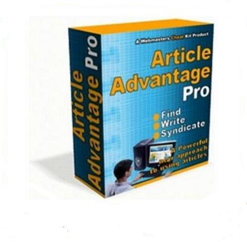 Product picture Article Advantage Pro A Powerful New Approach