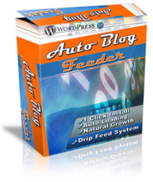 Product picture Auto Blog Feeder Software