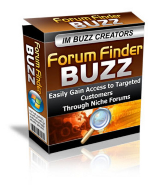Product picture Forum Finder Buzz With Mrr